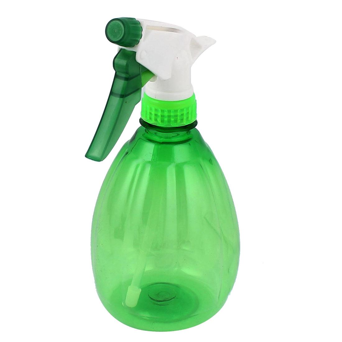 Hair Salon Gardening Nozzle Head Water Sprayer Trigger Spray Bottle Green 500ml