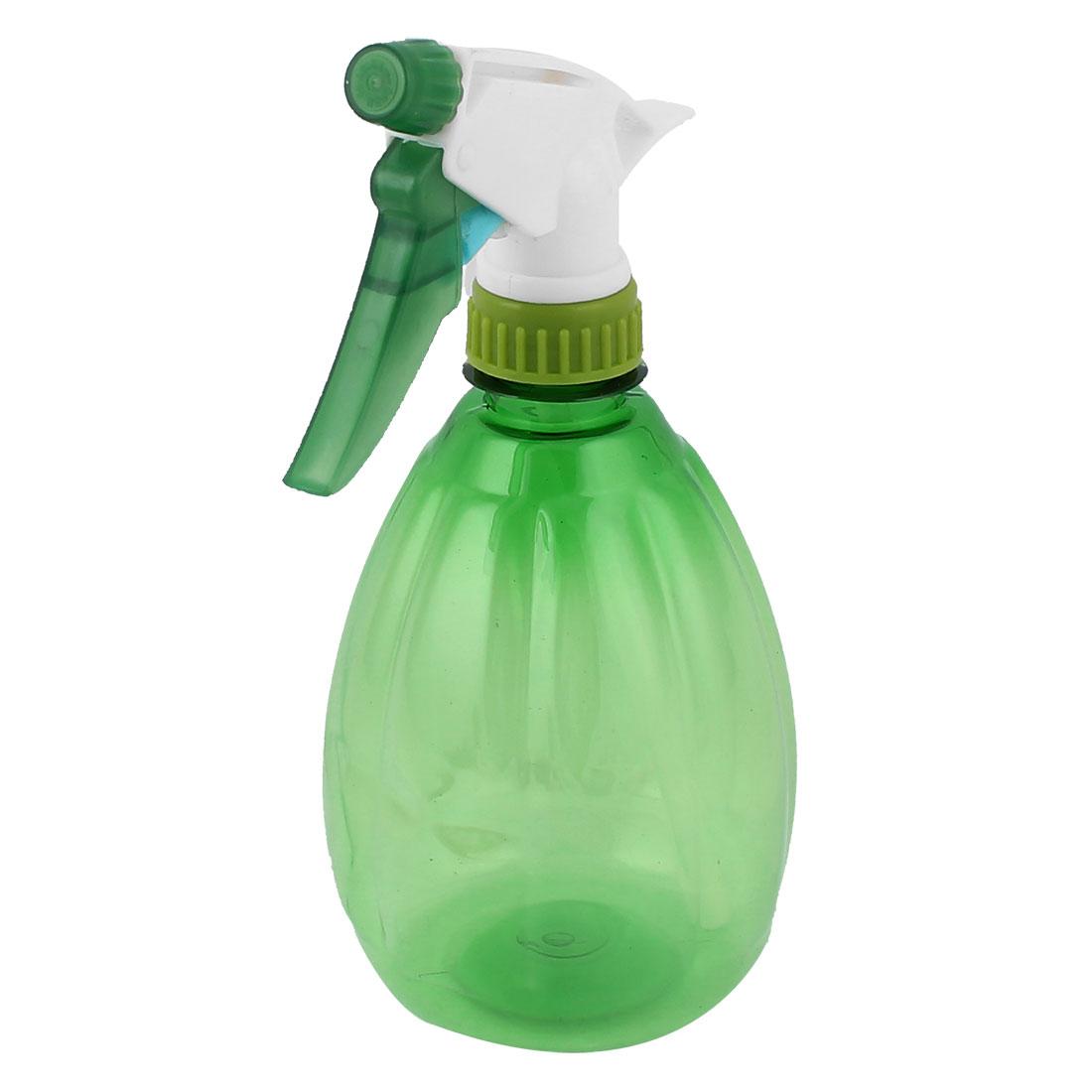 Hand Trigger Nozzle Head Water Sprayer Mist Spray Bottle Empty Container Green 500ml