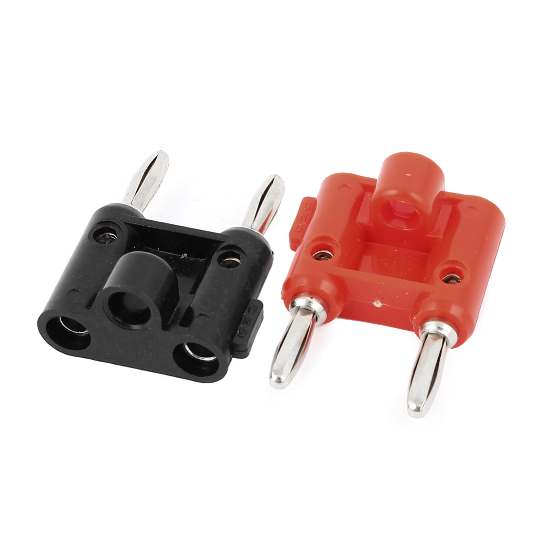 2pcs Speaker Audio Screw Type Dual Banana Binding Post Red Black