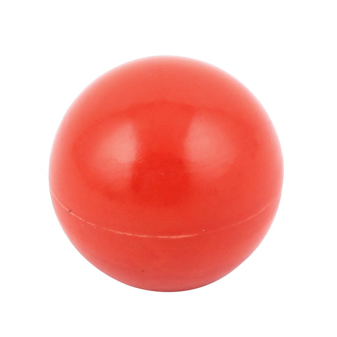 Cabinet Cupborad Dresser Drawer Door Plastic Ball Shape Knob Pull Handle Red