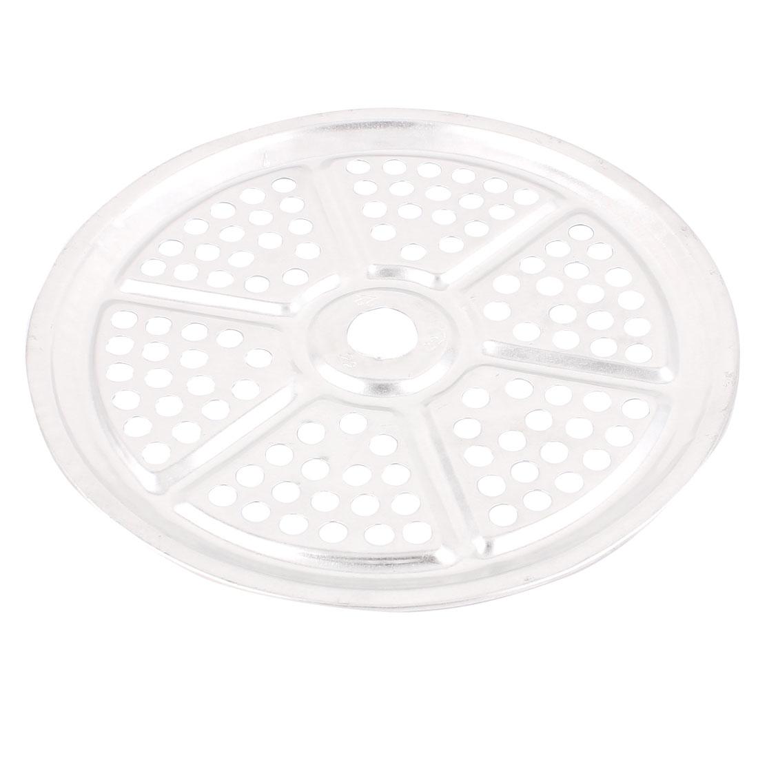 21cm Dia Aluminum Flour Bun Food Steaming Steamer Rack Insert Plate