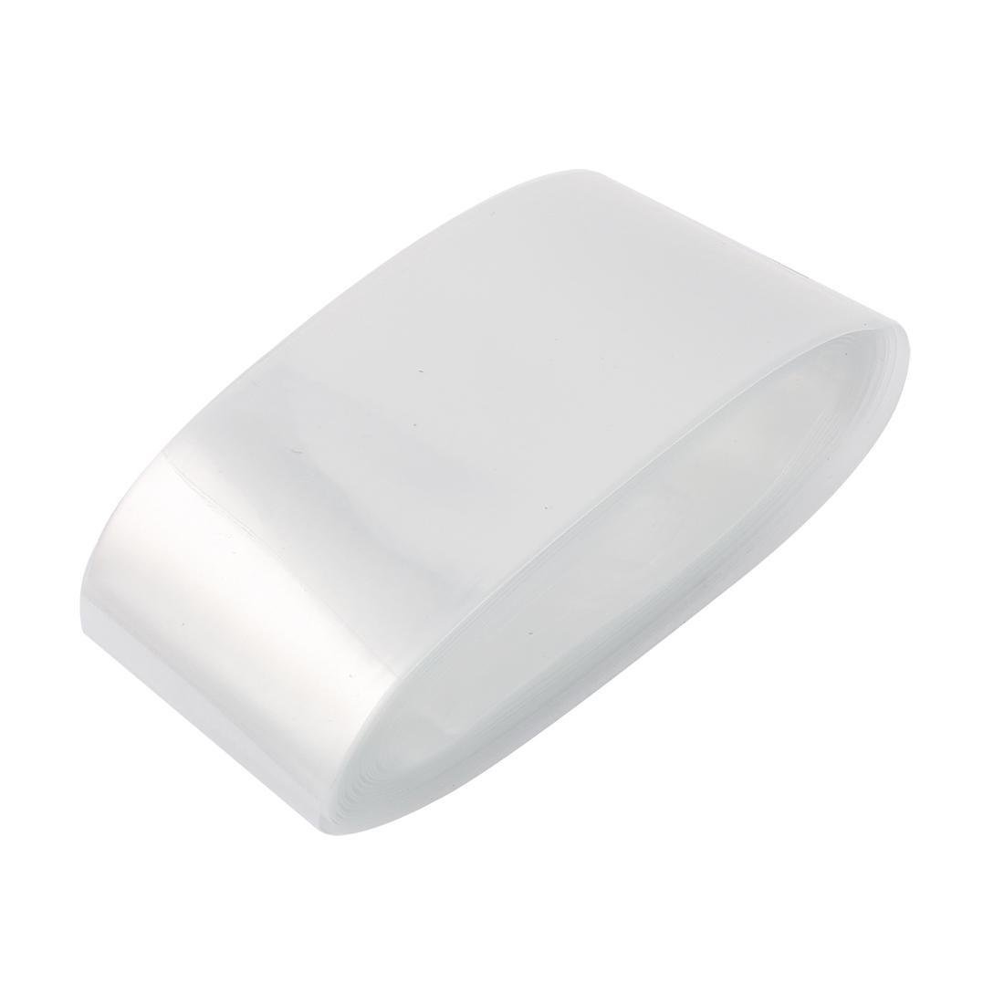 5cm Wide 5M Polyolefin 2:1 Shrink Ratio Heat Shrink Tube Clear