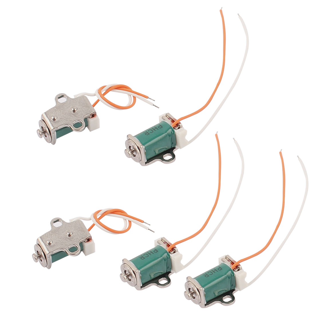 5Pcs DC3-4.5V 2 Wire Lead DC Micro Solenoid Electromagnetic Brake