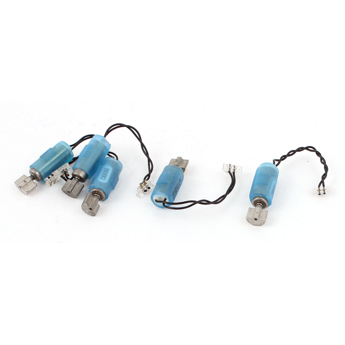 5Pcs DC 3V 1500RPM 4mm Dia 2 Wire Lead Coreless Vibrating Motor