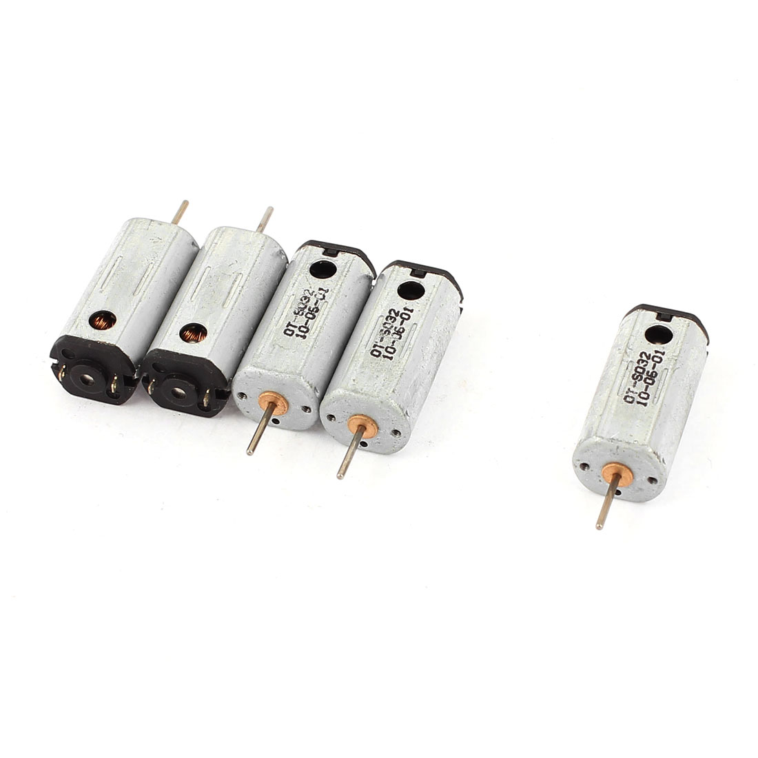 5Pcs DC 4.2V 36500RPM 1mm Dia Shaft High Speed Strong Magnetic Model Airplane DC Motor