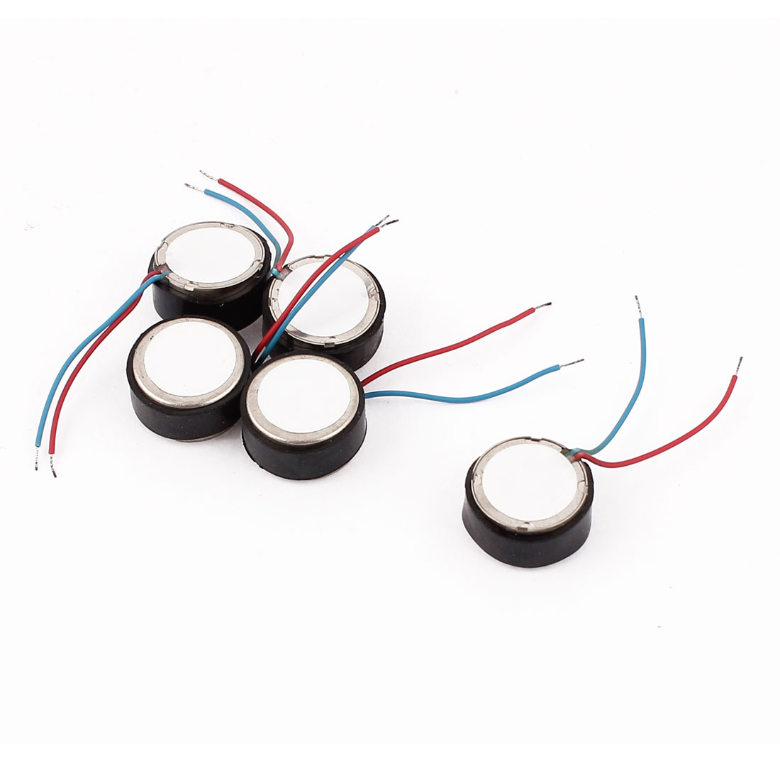 5Pcs DC 3-6V 11mm x 6.3mm Magnetic Vibrating Motor for Massor