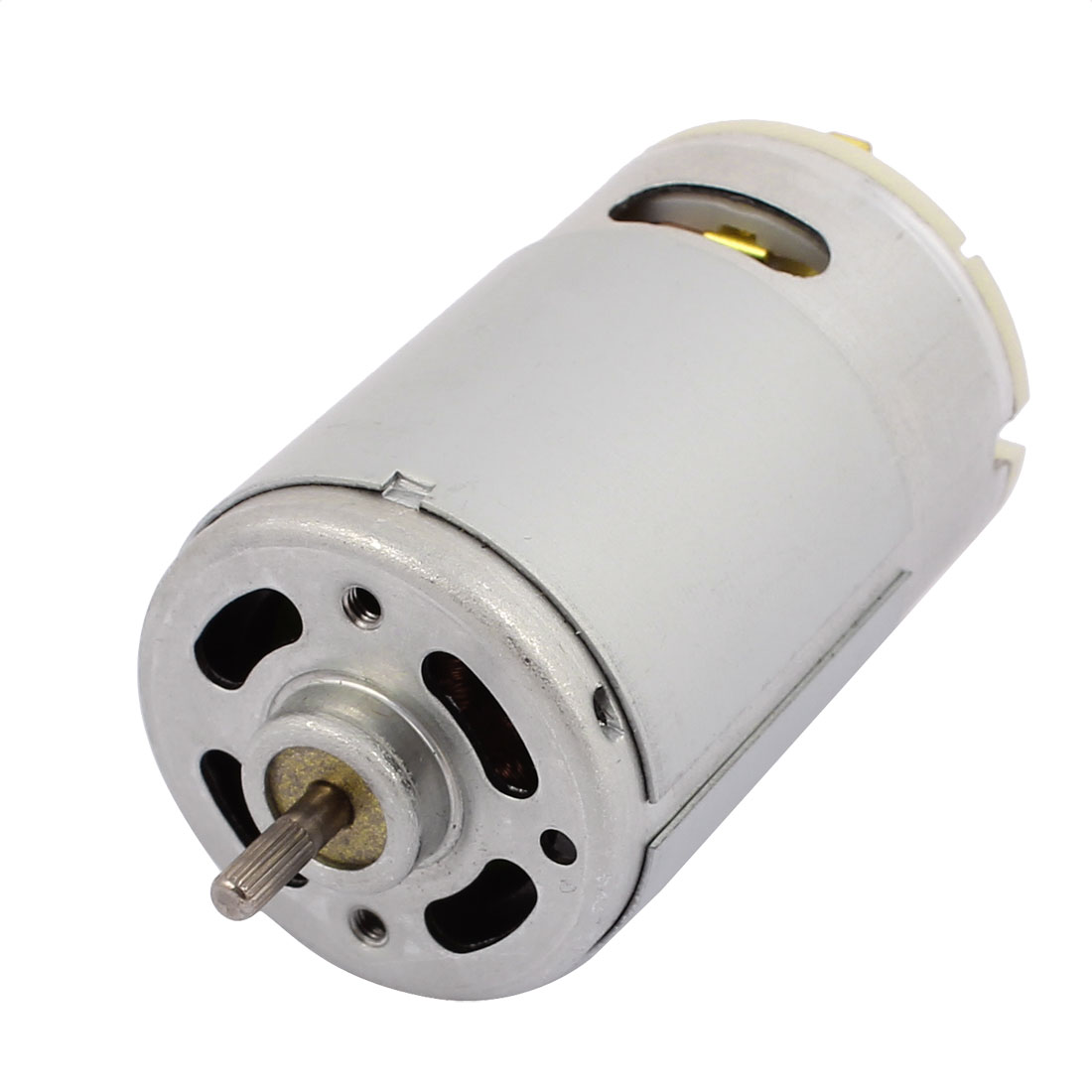 DC 12V 10000RPM Cylindrical Magnetic Electric DC Motor 36mm x 54mm