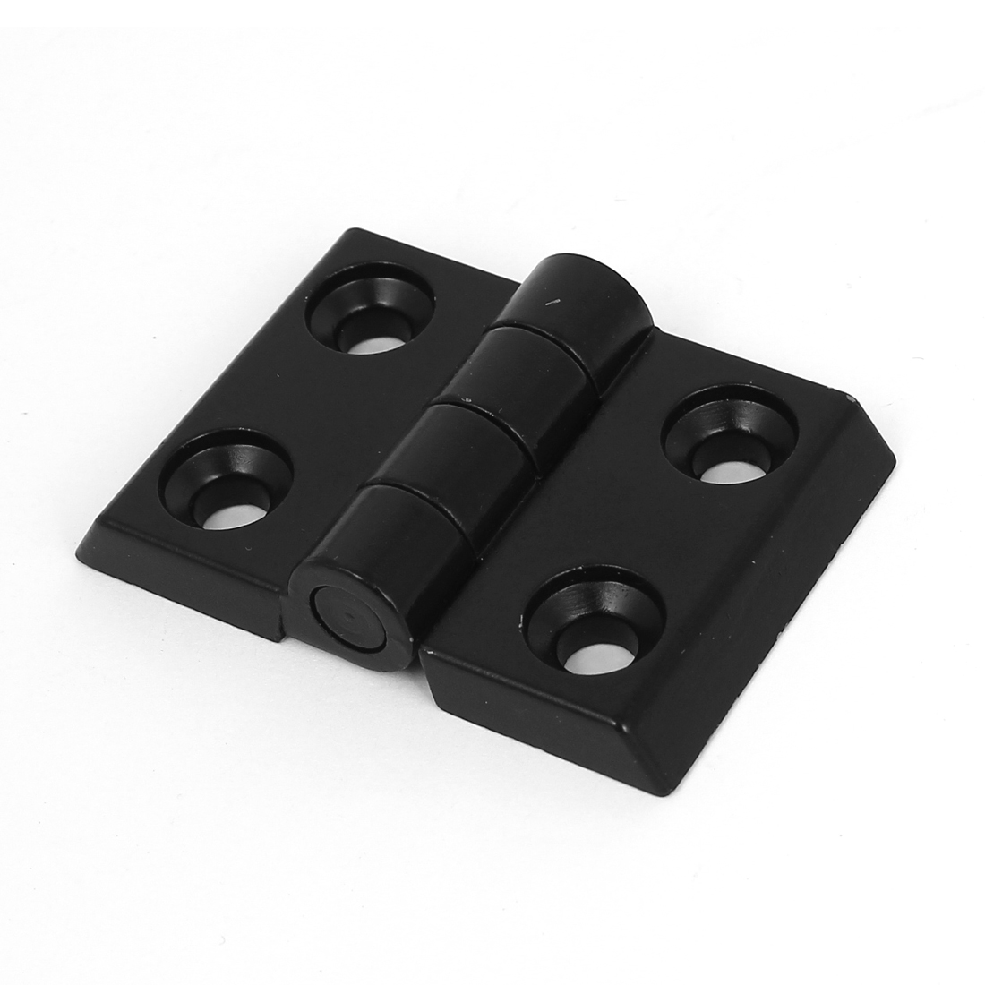 40mm x 25mm 2 Leaves Reinforced Aluminum Door Bearing Butt Hinge Black