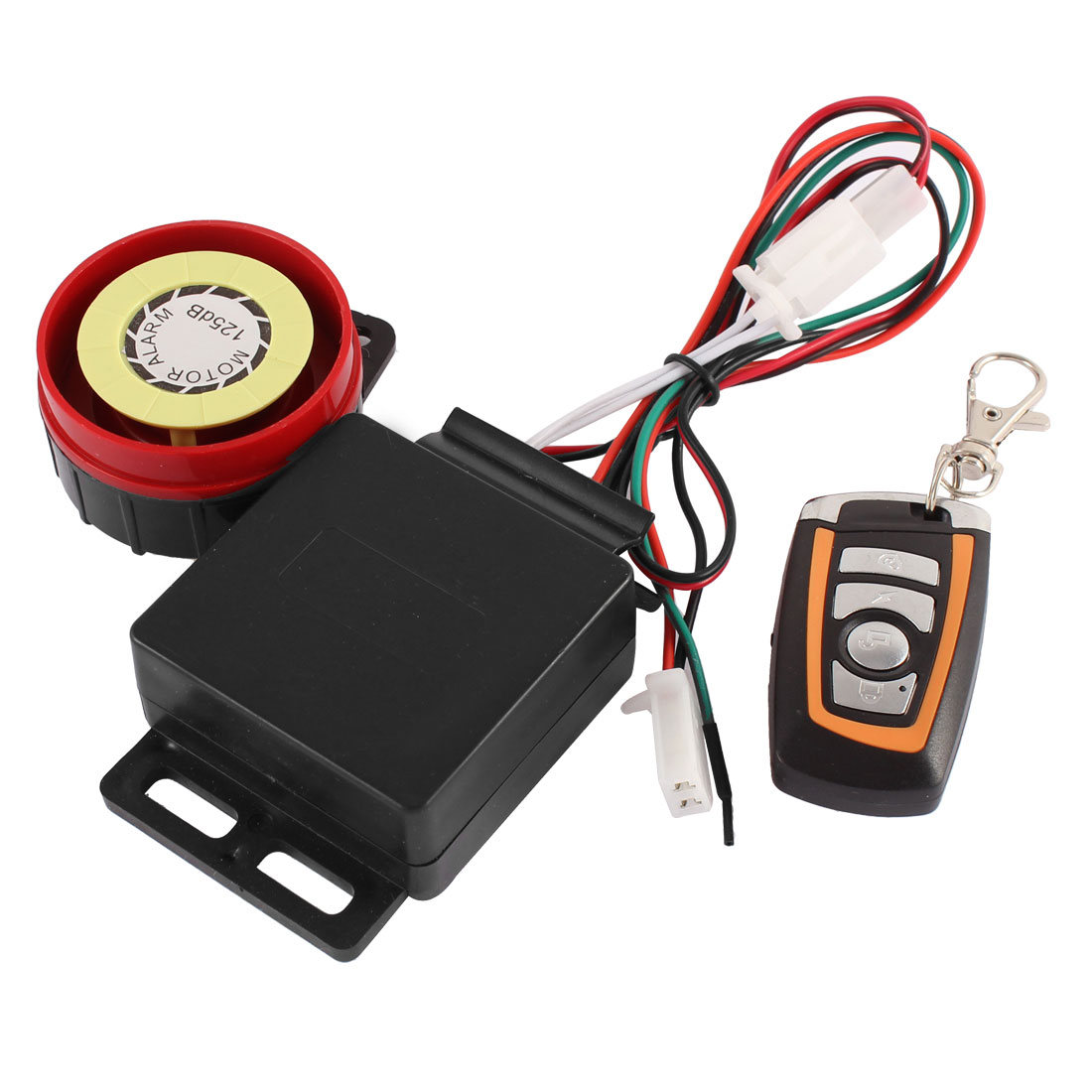Motorcycle Bike Anti-theft Safety Security Remote Control Alarm System Set 12V