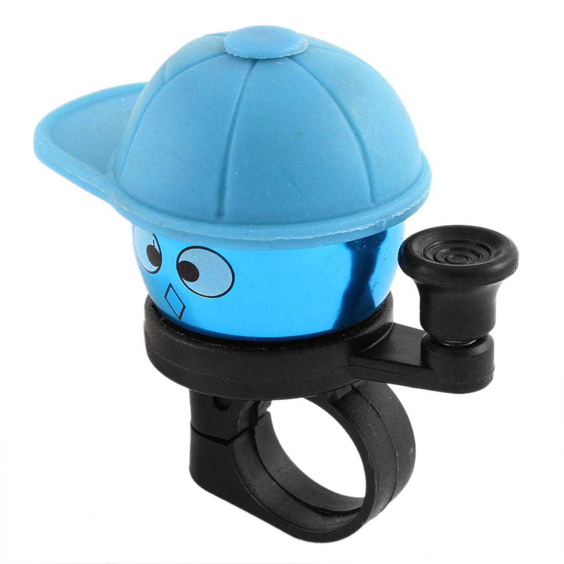 "Blue Cartoon Boy Style 0.8"" Diameter Bicycle Bike Handlebar Handle Bell Ring"