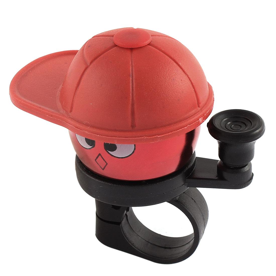 21mm Dia Red Cartoon Boy Design Bicycle Cycling Handlebar Bell Ring