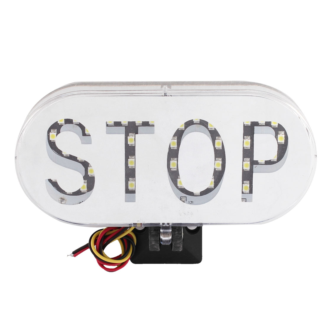 DC 12V White 36 LED Car Vehicle Stop Sign Brake Warning Light Lamp