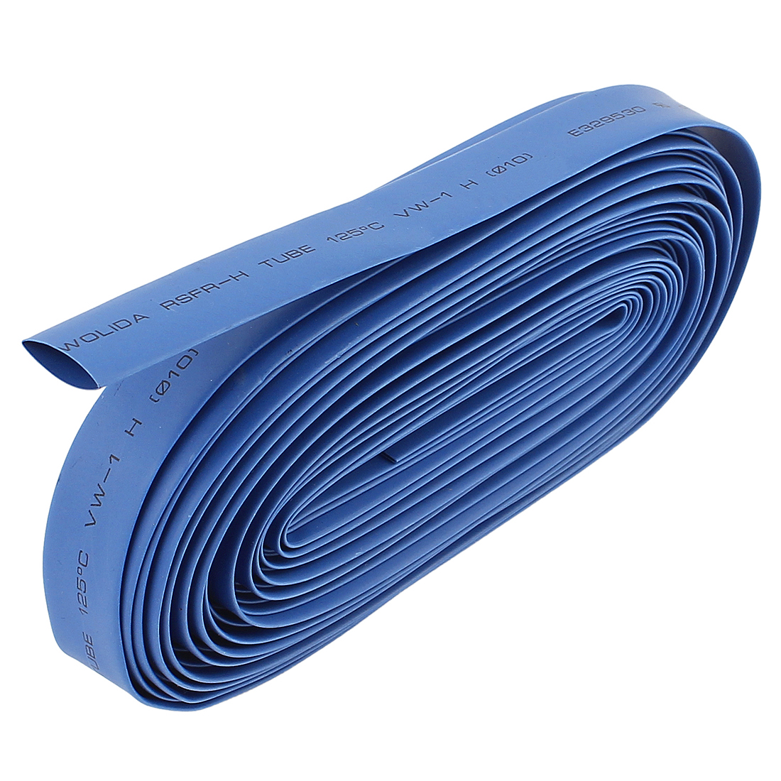 Blue 10mm Dia Polyolefin 2:1 Heat Shrink Tubing Wire Wrap Cable Sleeve 10M 33Ft