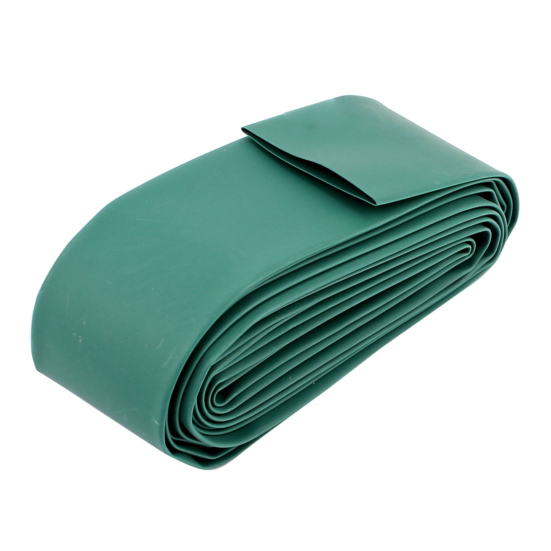 35mm Dia 3.86M 13Ft Long Heat Shrink Tubing Electric Wire Wrap Sleeve Green