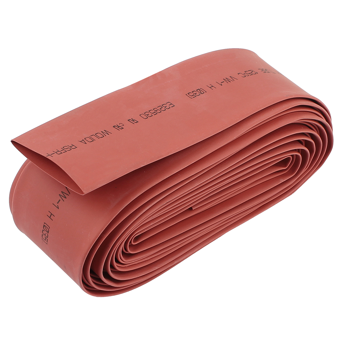 35mm Dia 7M 23Ft Long Heat Shrink Tubing Electric Wire Cable Wrap Sleeve Red