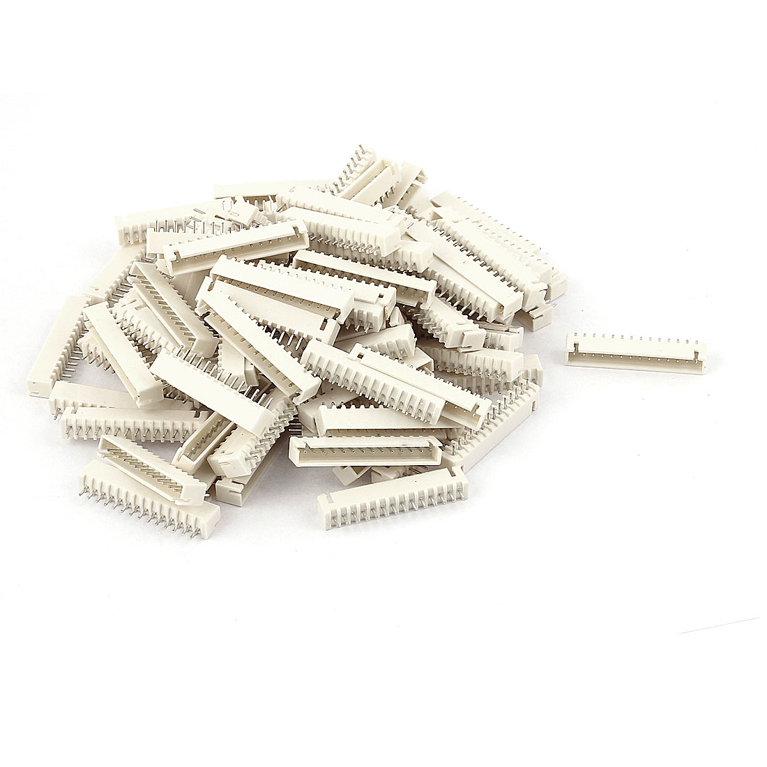 100pcs 2.54mm Pitch Male 14 Pins RC Lipo Battery Balance Connector JST XH Header