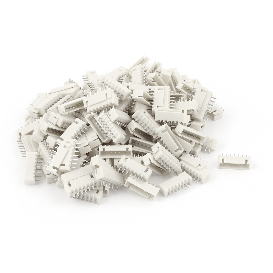 150pcs 2.54mm Pitch Male 7 Pins RC Lipo Battery Balance JST XH Header Connector
