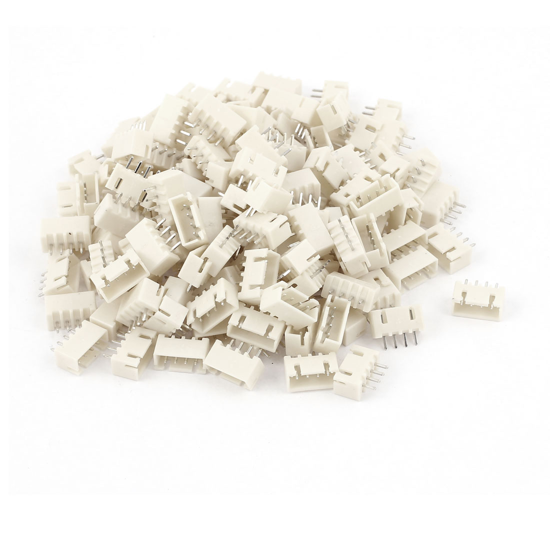 150pcs 2.54mm Pitch Male 4 Pins RC Lipo Battery Balance Connector JST XH Header