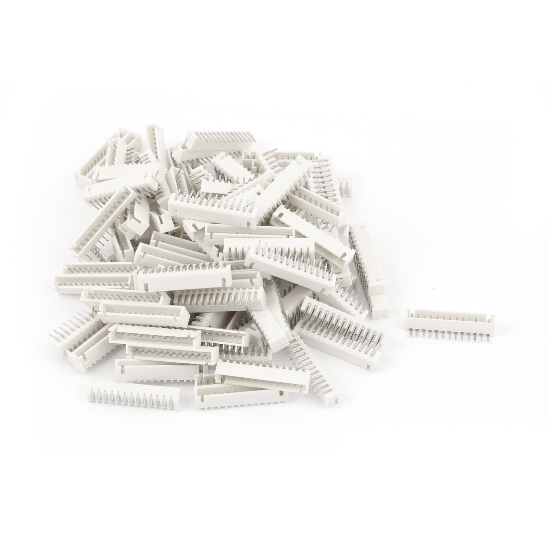 100pcs 2.54mm Pitch Right Angle Male 13 Pins XH Header Socket JST Connector