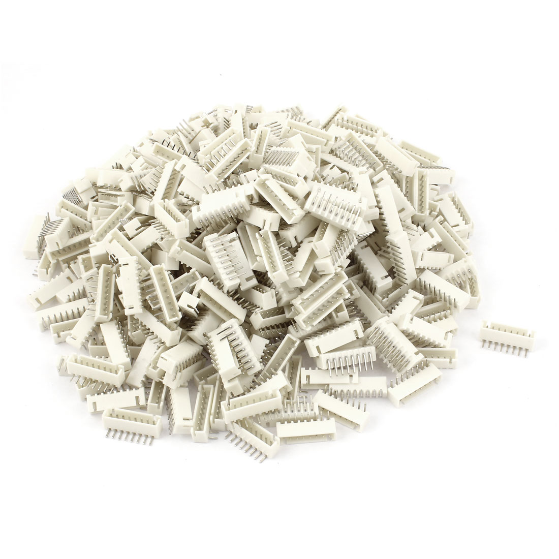 377pcs 2.54mm Pitch Right Angle 8 Pins XH Header Socket Male JST Connector