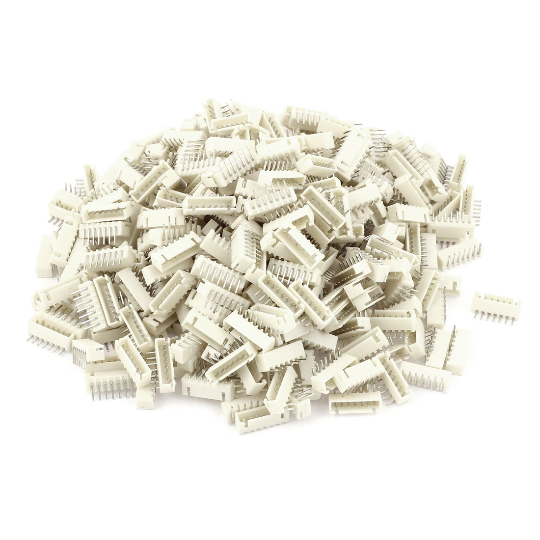 390pcs 2.54mm Pitch Right Angle 7 Pins XH Header Socket Male JST Connector