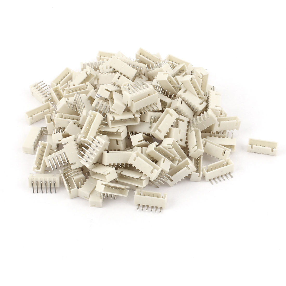 150pcs 2.54mm Pitch Right Angle 6 Pins XH Header Socket Male JST Connector
