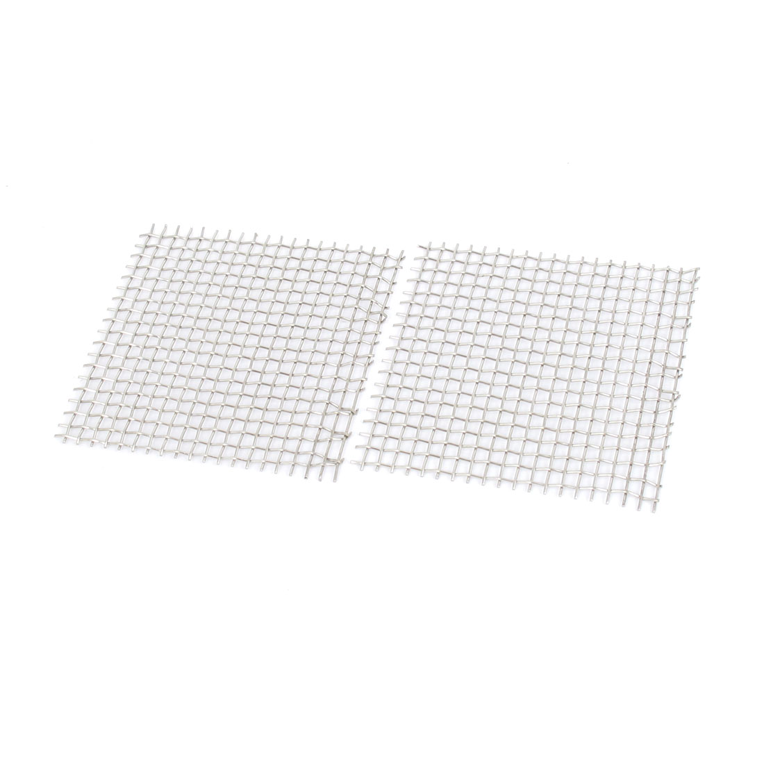 304 Stainless Steel Square Mesh Aquarium Decor Aquatic Moss Plants Net 2x2inch 2pcs