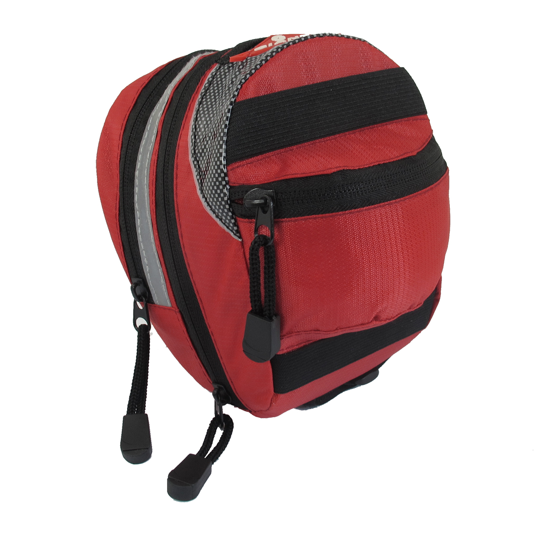Cycling Bicycle Tail Storage Seat Pouch Saddle Bag Red
