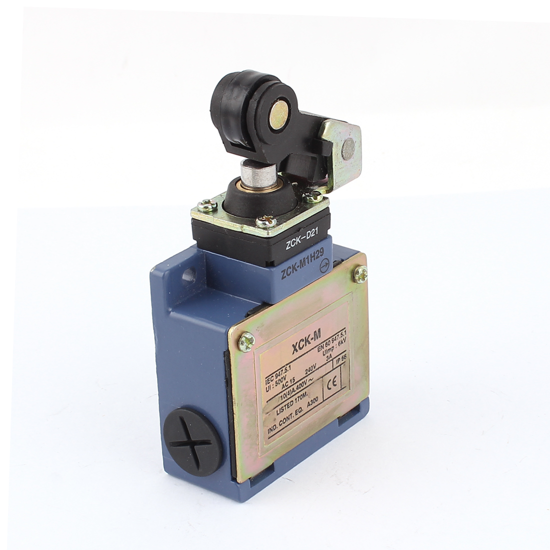 AC 240V 3A Waterproof Single Roller Rotary Lever Momentary Enclosed Limit Switch