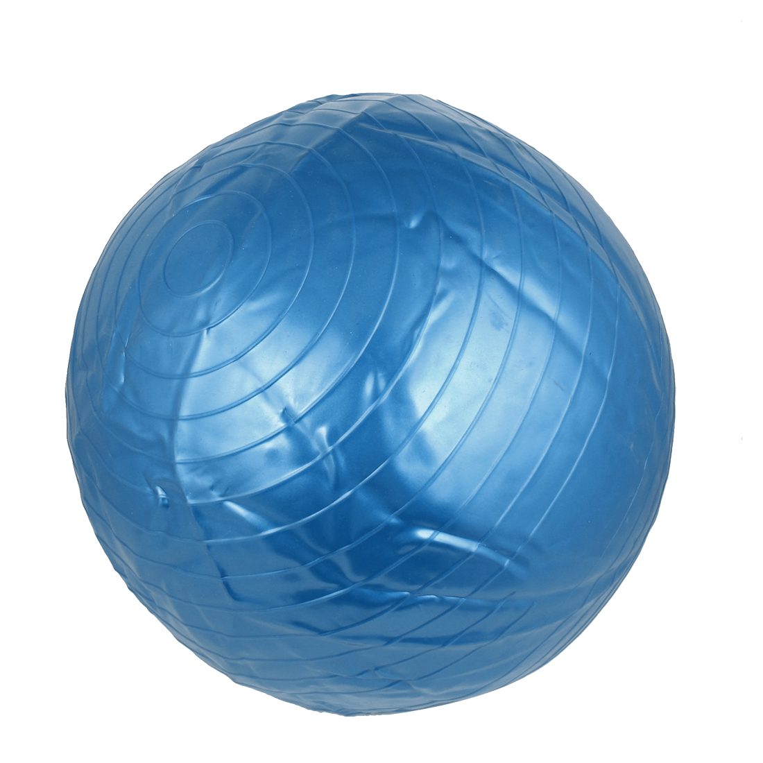 Lady Swiss Gym Inflatable Fitness Aerobic Yoga Exercise Ball 55cm Dia Blue