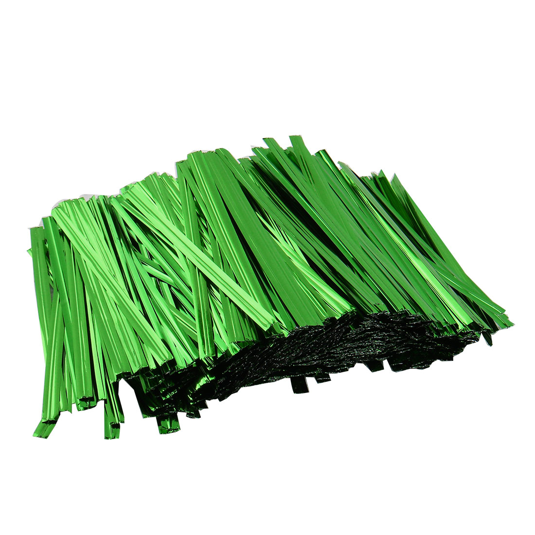 1600 Pcs Green 8cm Length Candy Bread Bags Packaging Twist Cable Tie