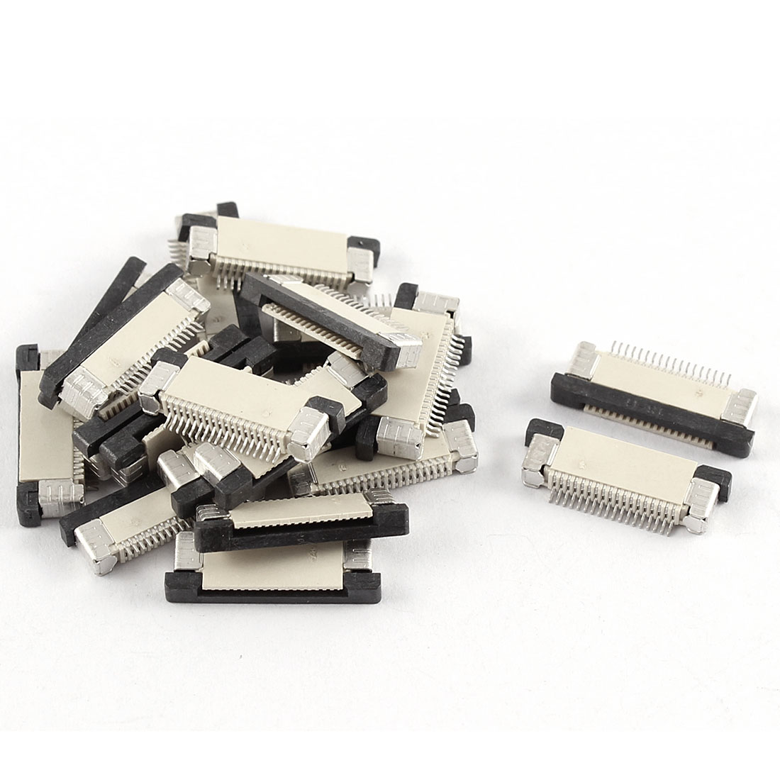 20Pcs Bottom Connect 18Pin 0.5mm Pitch FFC FPC Ribbon Sockets Connector
