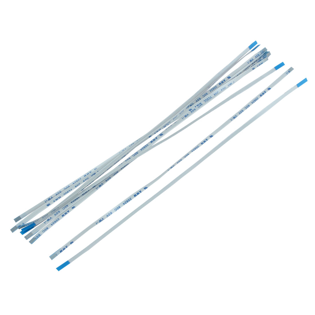 10Pcs 0.5mm Pitch 4 Pin AWM 20624 80C 60V VW-1 Flexible Flat Cable FFC 200mm