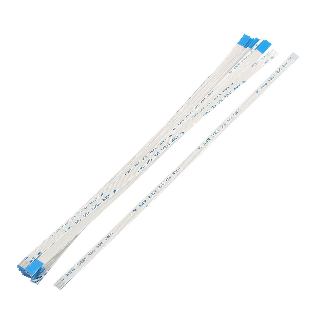 20Pcs 0.5mm Pitch 8 Pin AWM 80C 60V VW-1 Flexible Flat Cable FFC FPC 200mm