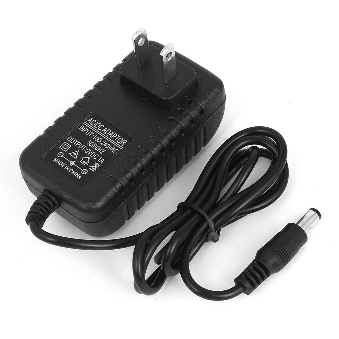 US Plug AC 100V-240V to DC 9V 1A 5.5x2.5mm Power Adapter Adaptor Wall Charger