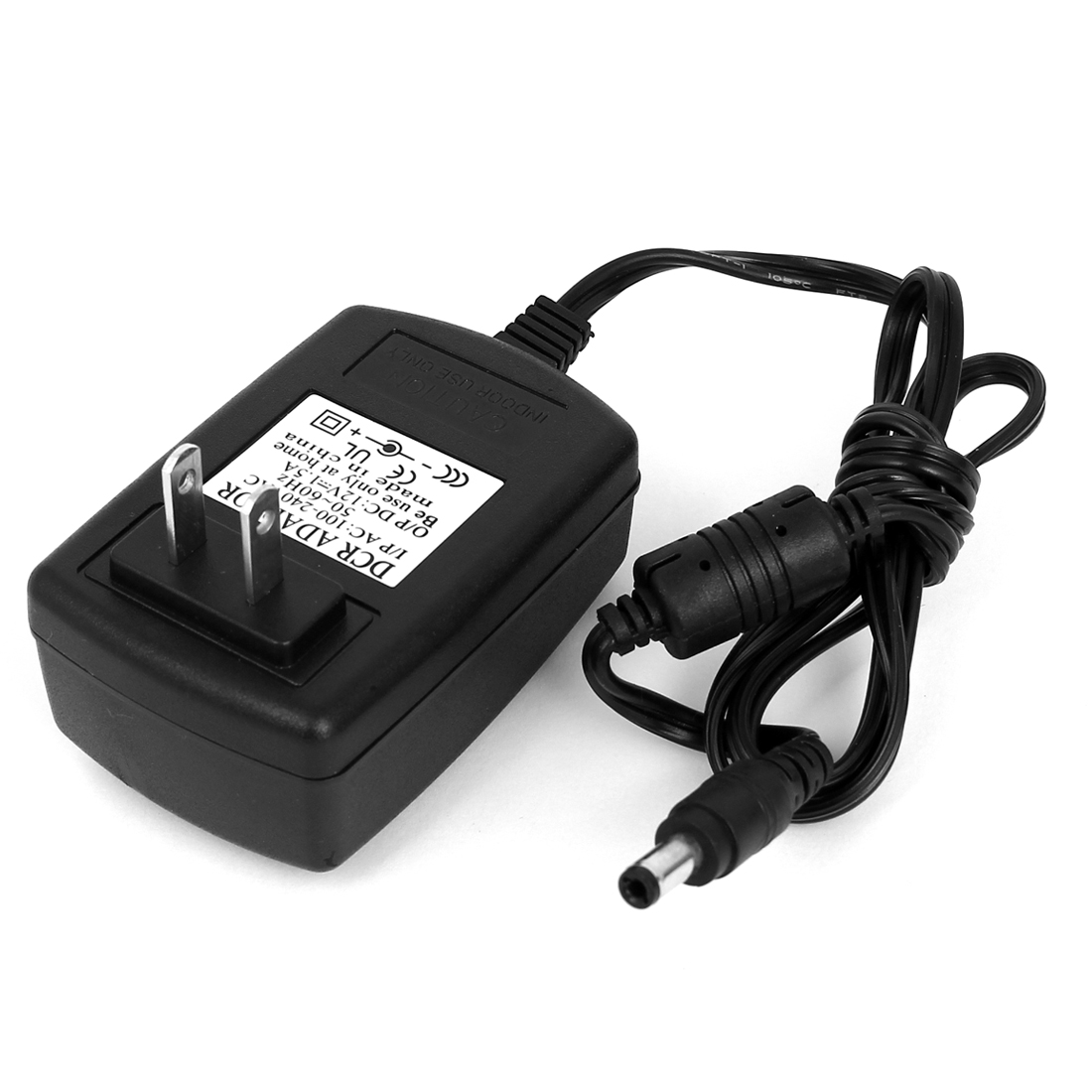 US Plug AC 100-240V to DC 12V 1.5A 5.5x2.5mm Power Adapter Converter Wall Charger