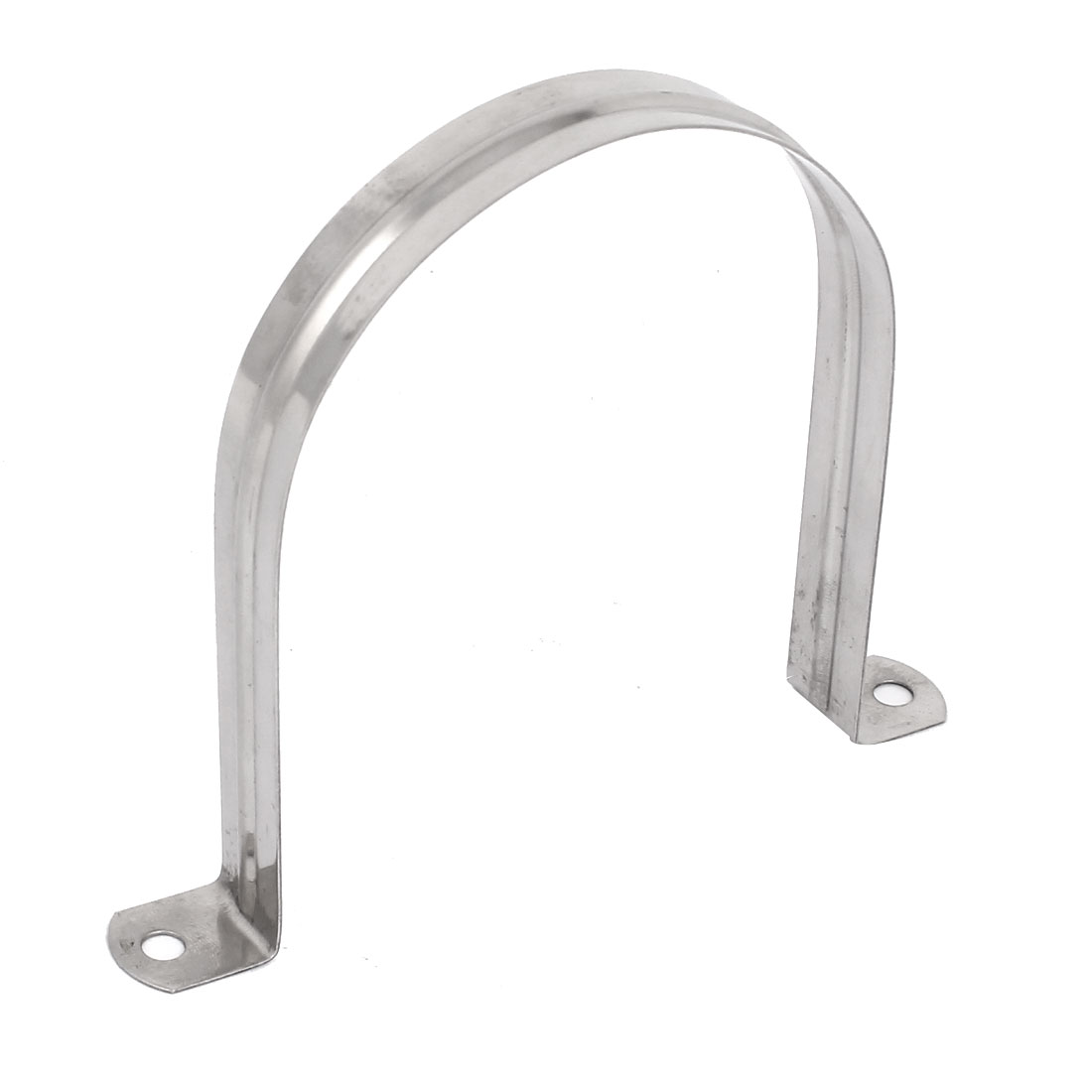 110mm Arch High Two Hole 304 Stainless Steel Pipe Strap Clips Fastener Holder