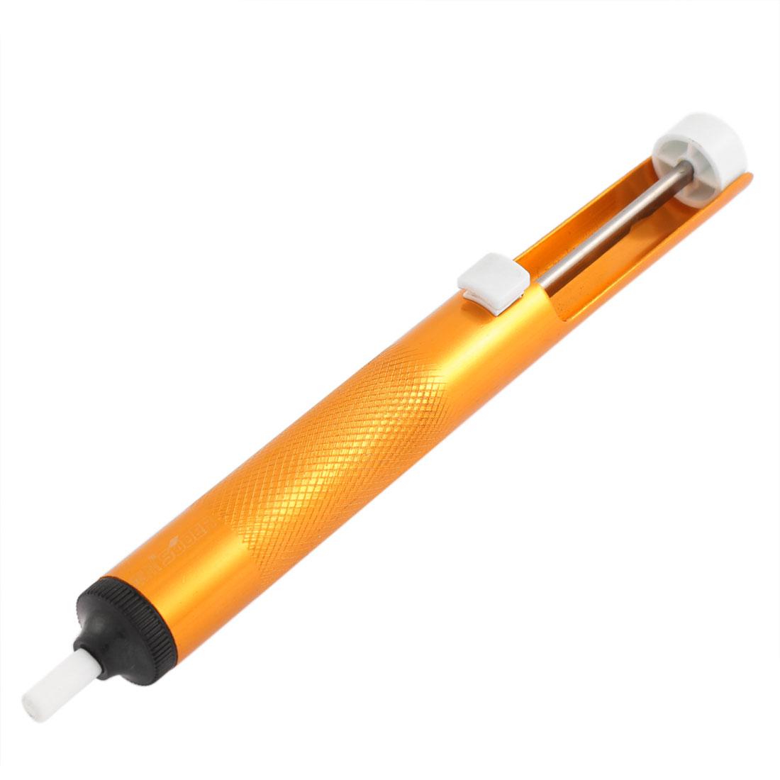 Solder Sucker Desoldering Pump Removal Vacuum Soldering Tool Gold Tone