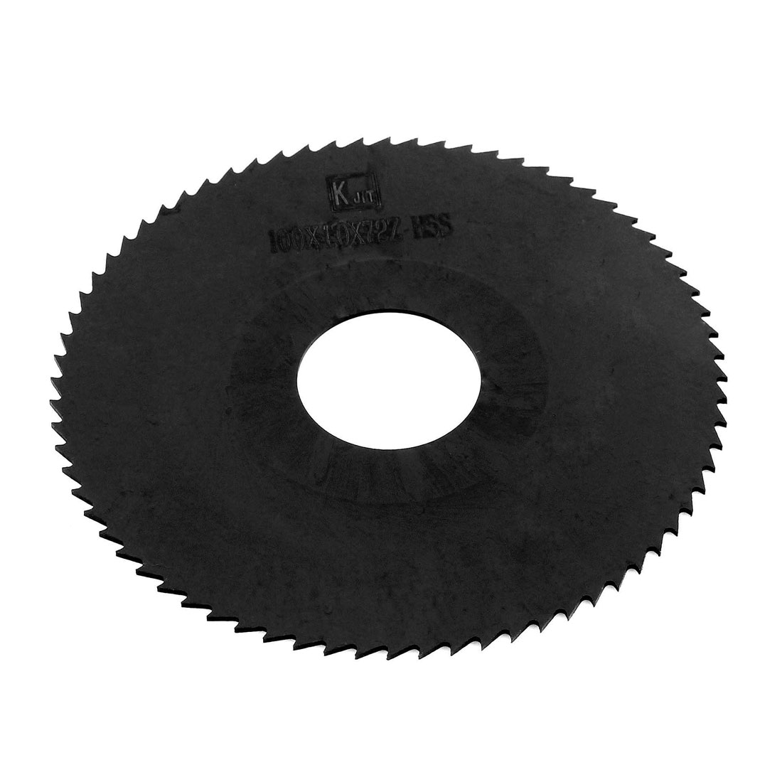 Black HSS 72 Teeth 100mm Dia 1.0mm Thickness Slitting Saw Cutting Tool