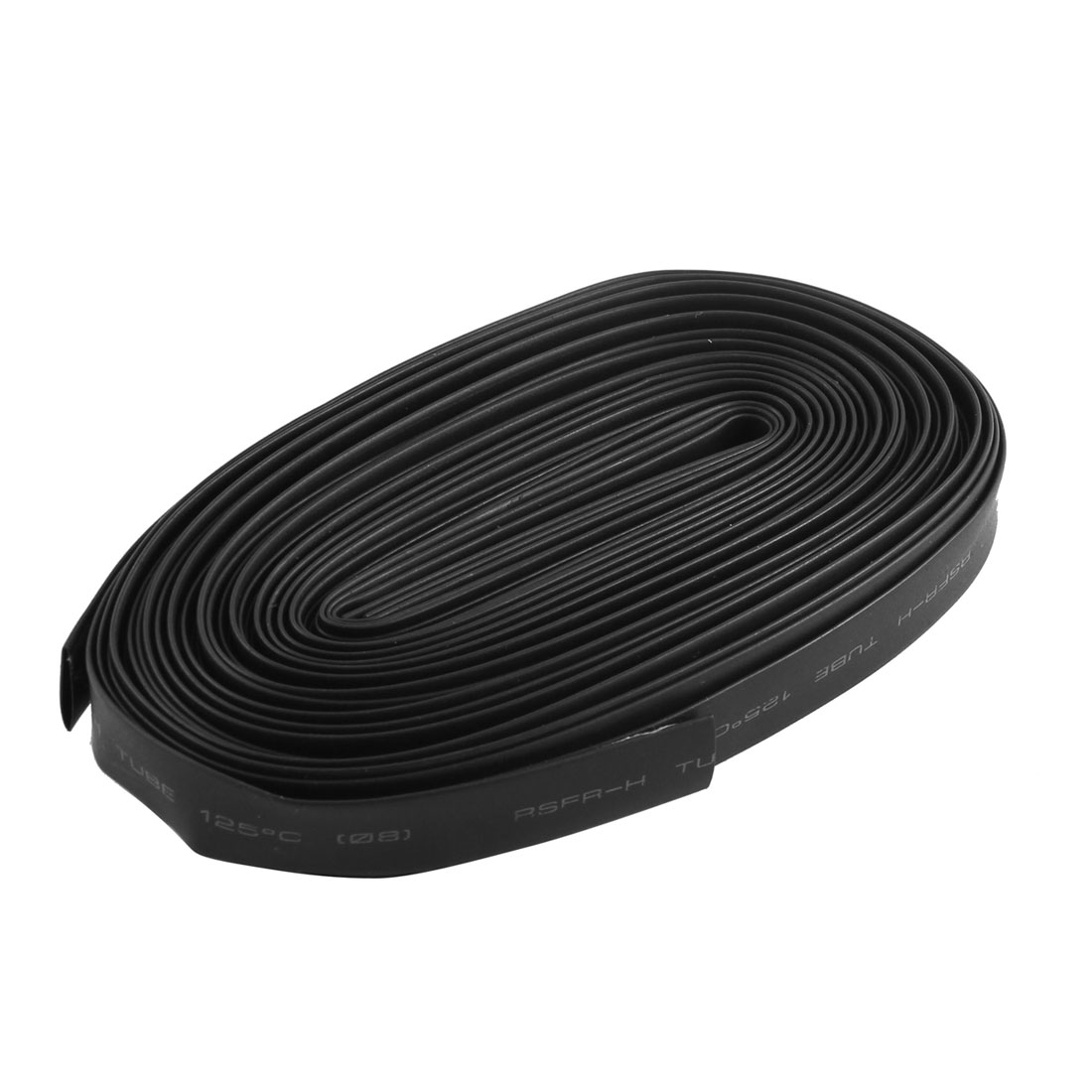 2pcs 16Ft 5M Long 600V 125C 4mm 8mm 2:1 Heat Shrink Wire Wrap Shrinkable Tube Cable Sleeve Tubing