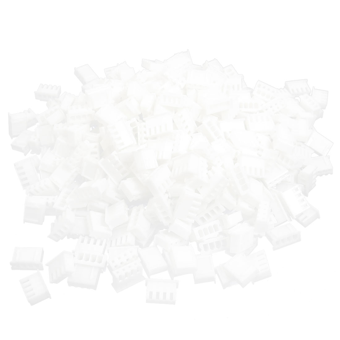 400pcs White Plastic CH 2.54mm Pitch 4 Position Connector Housing for 4P Crimp Terminal