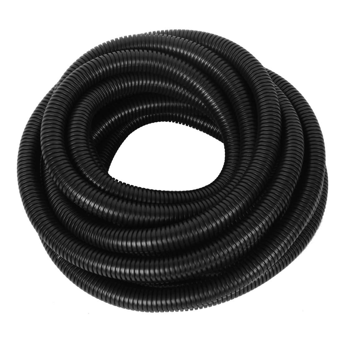 21.5mm x 17mm Dia Flexible Bellows Hose Pipe Wire Protect Corrugated Conduit Tube Tubing 8.4M Long