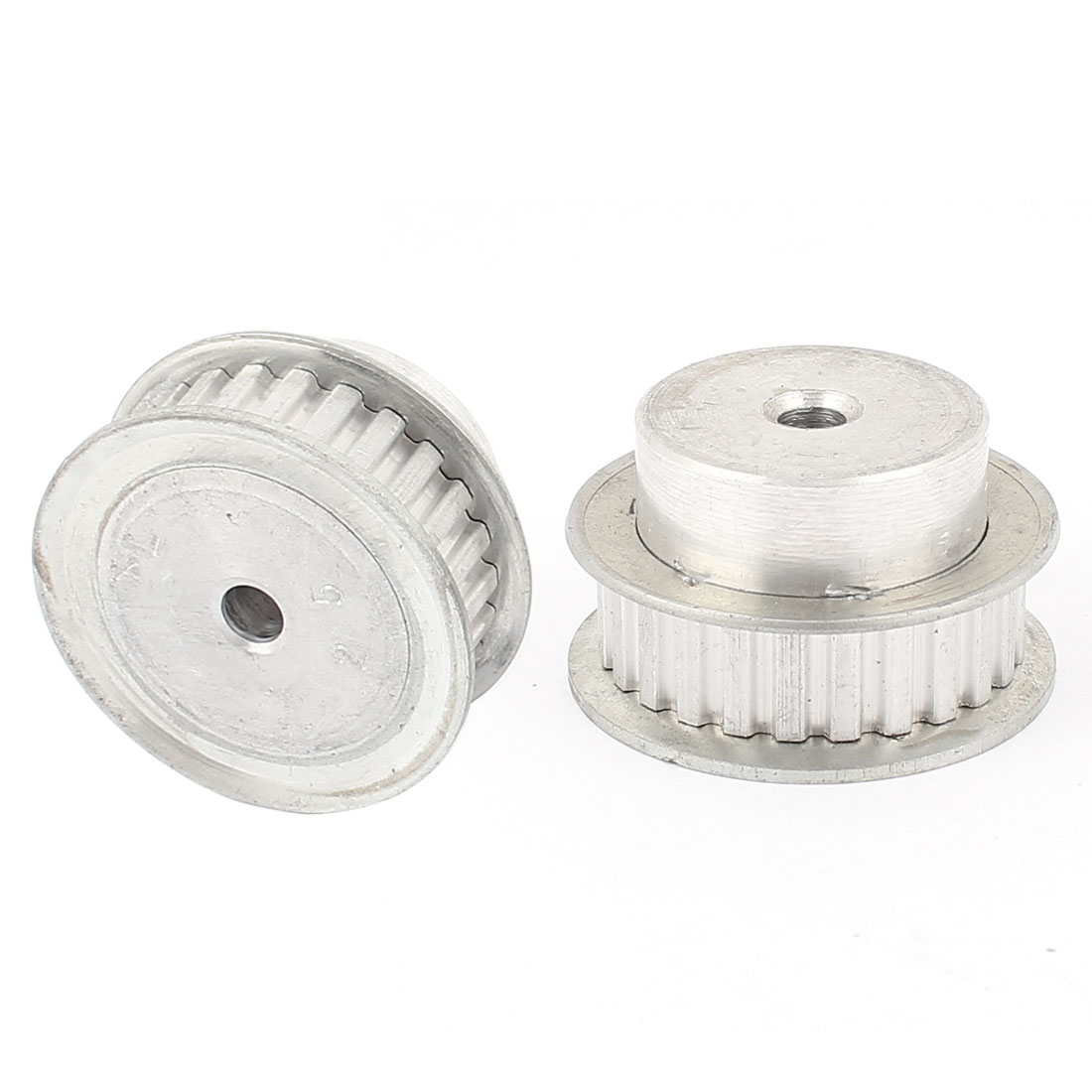 2Pcs XL25 25 Teeth 5mm Pitch 6mm Bore Aluminum DIT Robot Synchronous Timing Pulley for 11mm Width Belt
