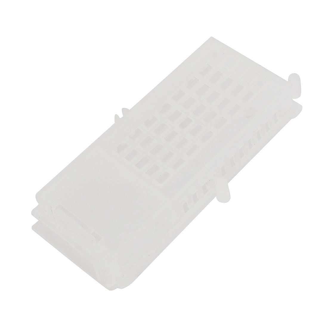 White Plastic Queenbee Isolation Case Transport Bee Cage Beekeeping Tool