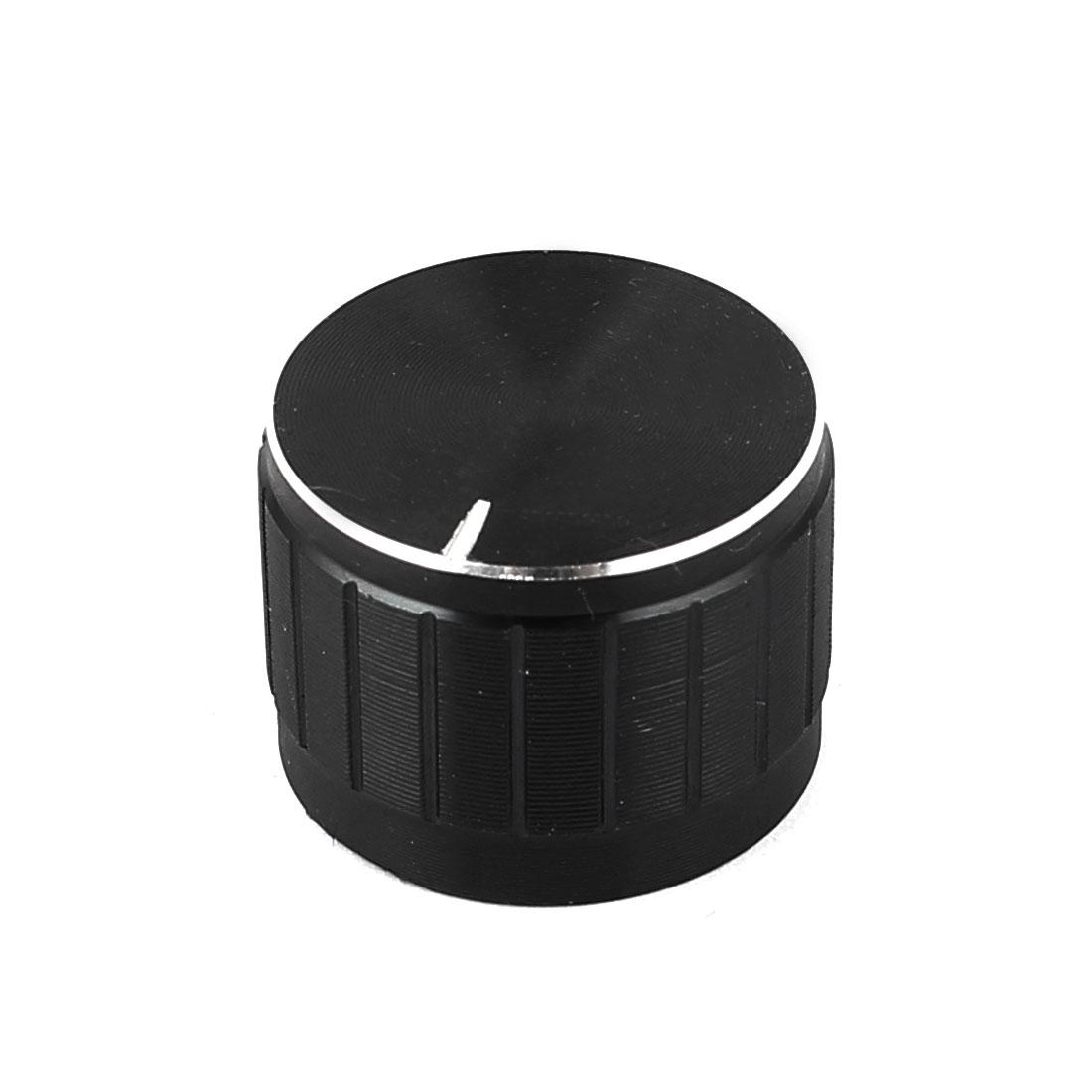 6mm Dia Shaft Metal Shell Potentiometer Pot Rotary Control Knob