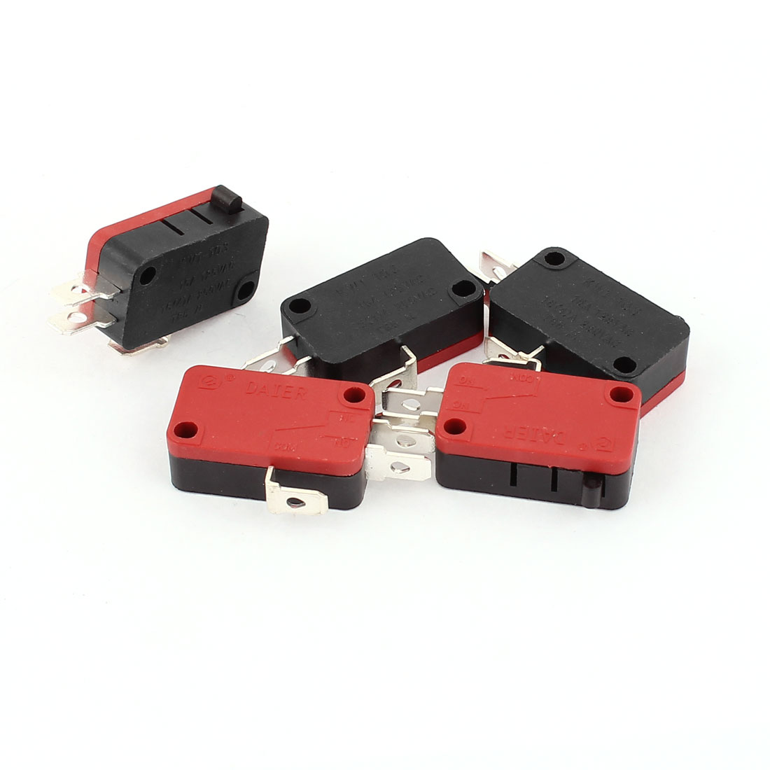 SPDT Momentary Button Snap Action Subminiature Mini Micro Limit Switch 5pcs