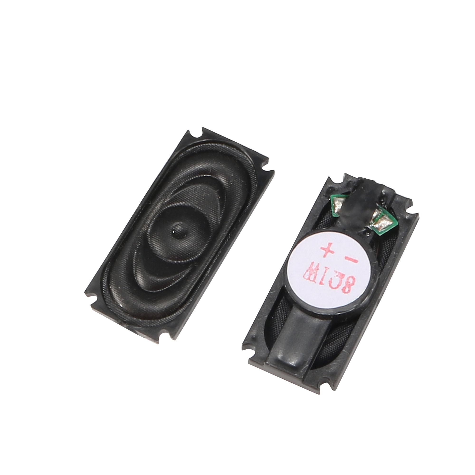 1W 8 Ohm Plastic Shell Magnet Speaker Loudspeaker Amplifier 35mm x 15mm 2pcs