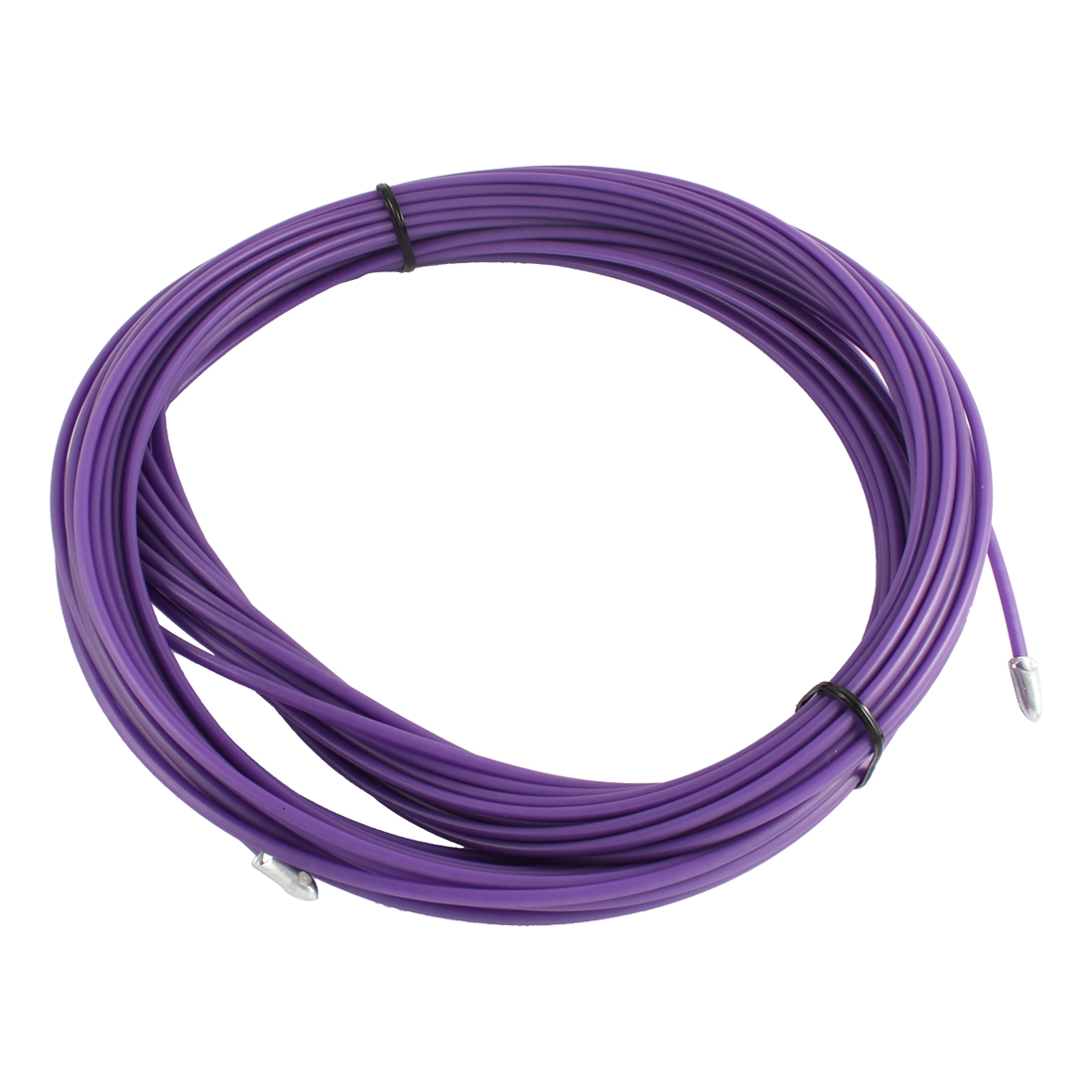 100Ft 30m Long 3mm Dia Purple Electrical Wire Threader Cable Lead Puller Pulling