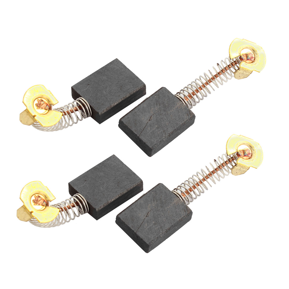 4pcs 21mm x 16mm x 6mm Electric Carbon Brush Replacement w Spring for Power Tool