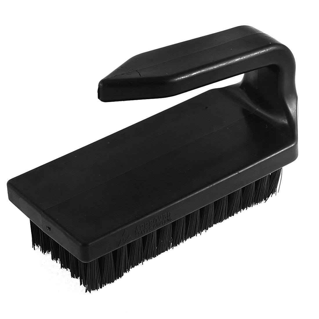 Black Plastic U Shape Handle Anti Static Cleaner Brush
